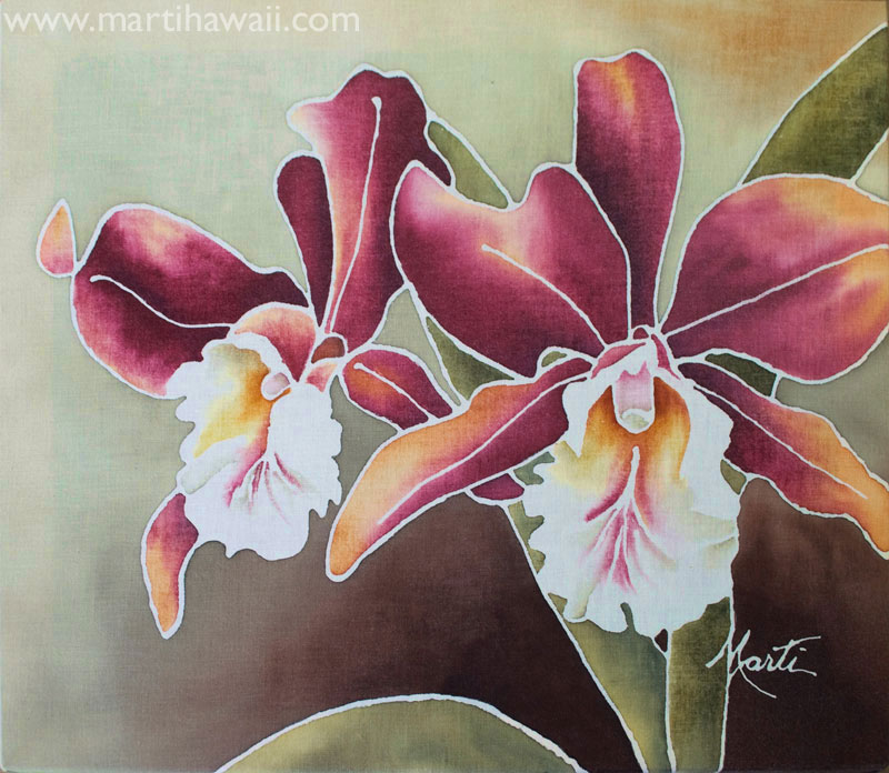 November Orchids by Marti Wiese Rounds