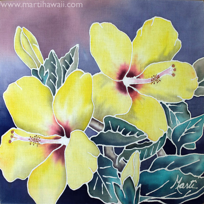 Yellow Hibiscus by Marti Wiese Rounds
