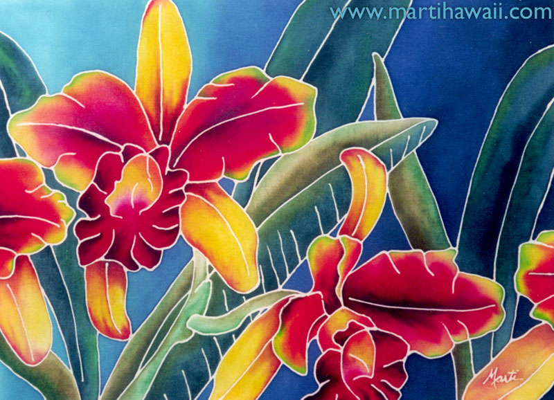 Bright Orchid by Marti Wiese Rounds