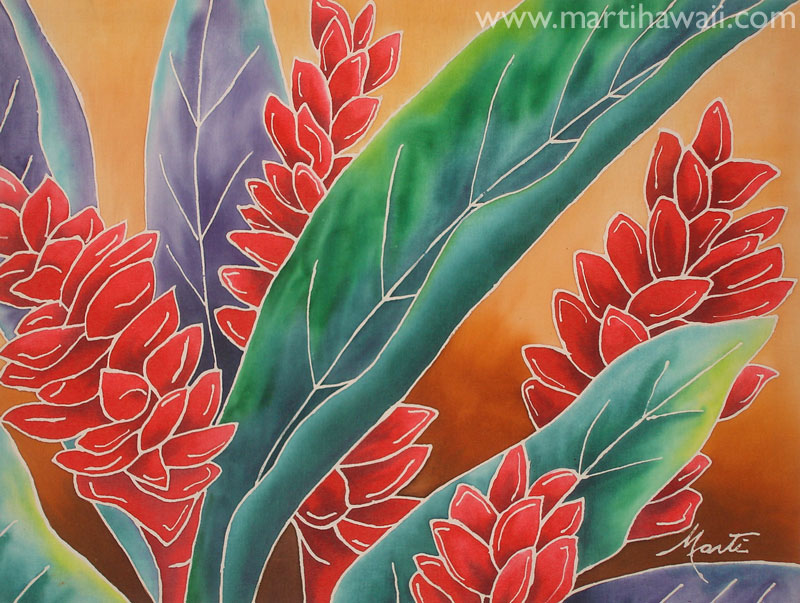 Bright Red Ginger by Marti Wiese Rounds