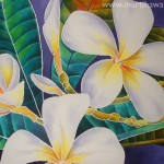 Plumeria by Marti Wiese Rounds